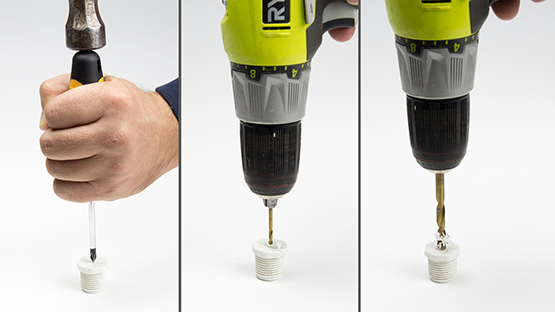 Drilling Caps