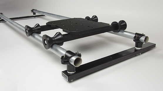 How to make a dolly track with support.